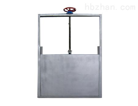 电动头式不锈钢机门一体闸门