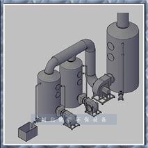 SBW型係列PP玻璃鋼酸霧淨化塔