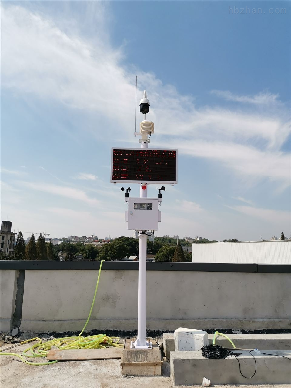 广州市汽车喷涂VOCs污染在线监测系统