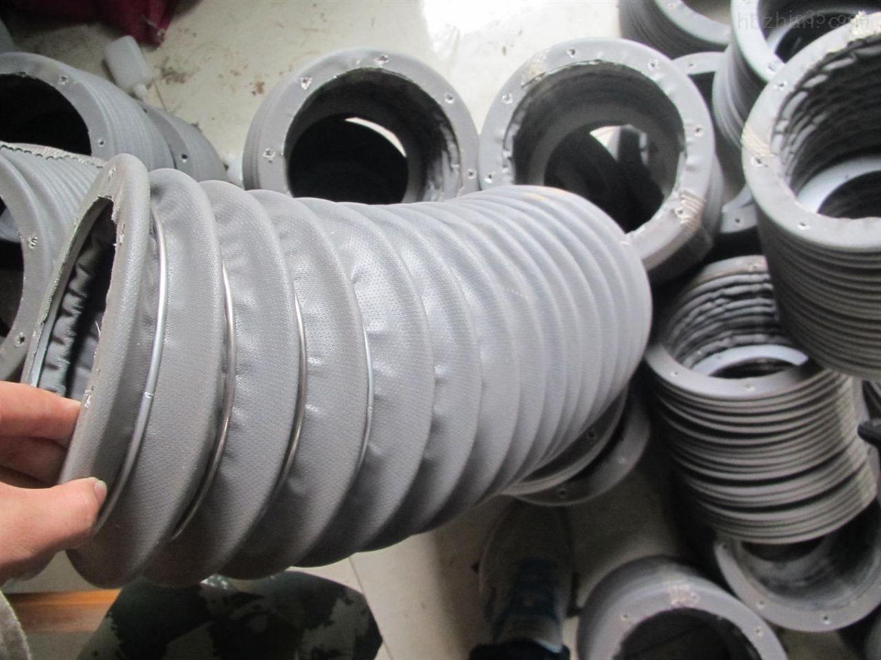 硅胶布阻燃伸缩式通风管供应