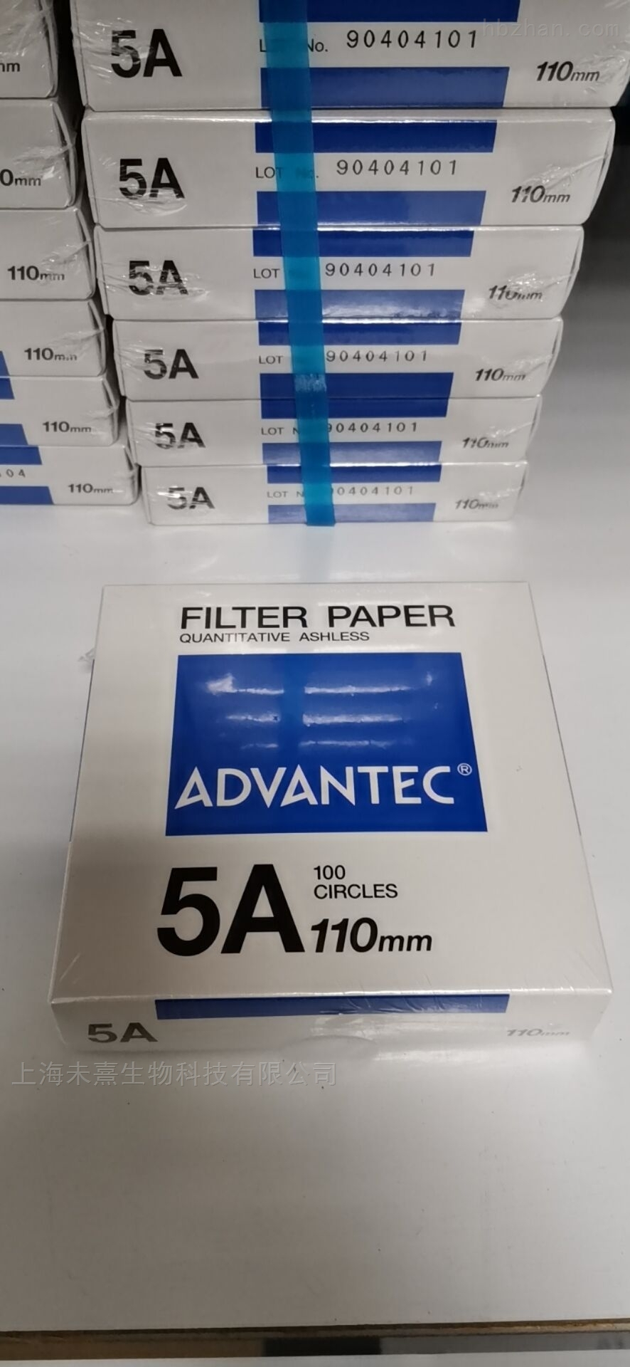 ADVANTEC东洋5A定量滤纸110mm直径