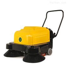 潔樂美手推掃地機小區車間清掃車電動雙刷