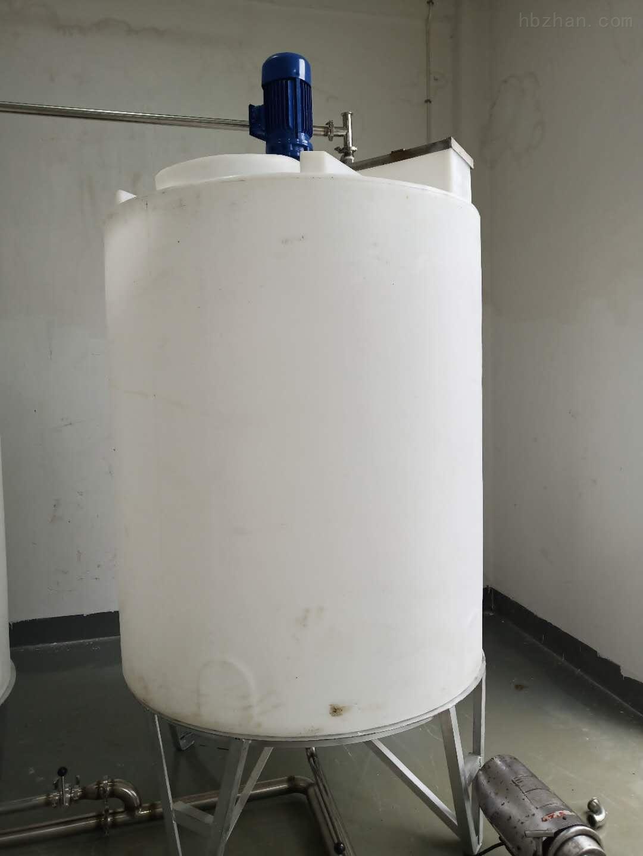 谦源塑料搅拌罐 氢氧化钠搅拌罐