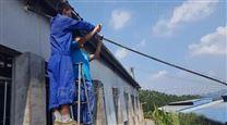 惠州猪舍智能化中央集中式高压清洗系统设备