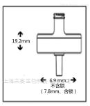 GVS总代理 3mm尼龙膜针头式过滤器