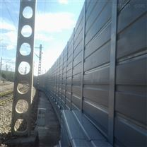 河北辛集铁路防护屏铝板冲孔折弯