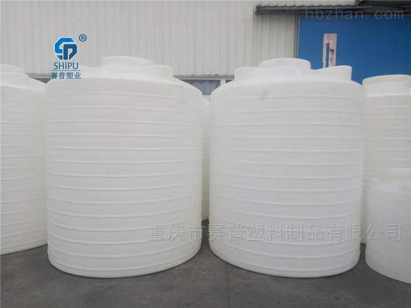 5吨PE塑料水塔 农业灌溉塑料储罐厂家