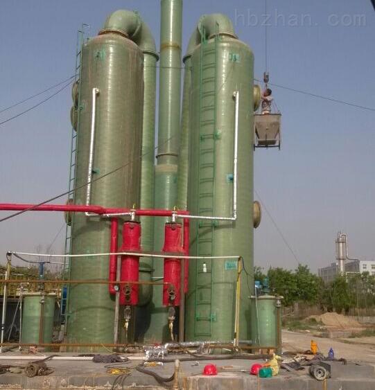 氨氮吹脱吸收塔的技术方案