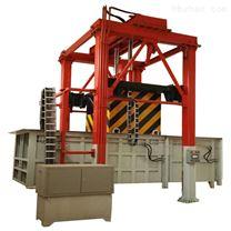 垂直式_三缸四柱垃圾压缩箱全封闭式_隐蔽式