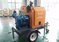 柴油机移动排涝泵车