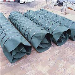 砂石料输送伸缩布袋水泥卸料收尘伸缩筒