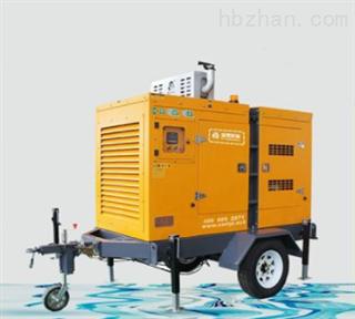 防汛抗洪移动多功能泵车