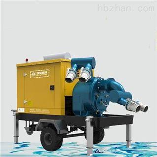 抗旱防汛排涝移动泵车