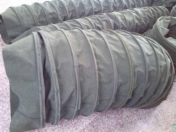 耐磨防水帆布水泥卸料伸缩布袋 定做