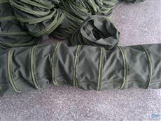 除尘通风耐磨帆布伸缩袋 厂家制造