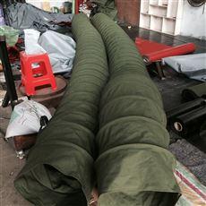 水泥卸料帆布伸缩布袋规格定做