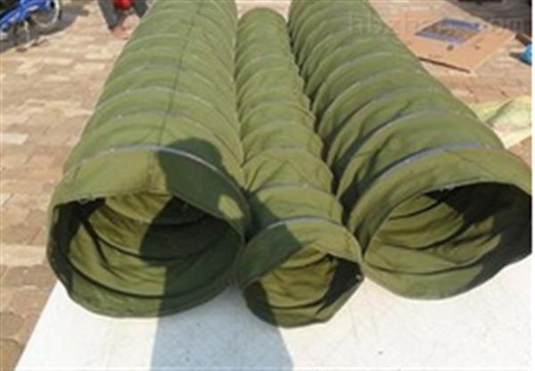 汽车散装机卸料输送帆布伸缩袋 规格