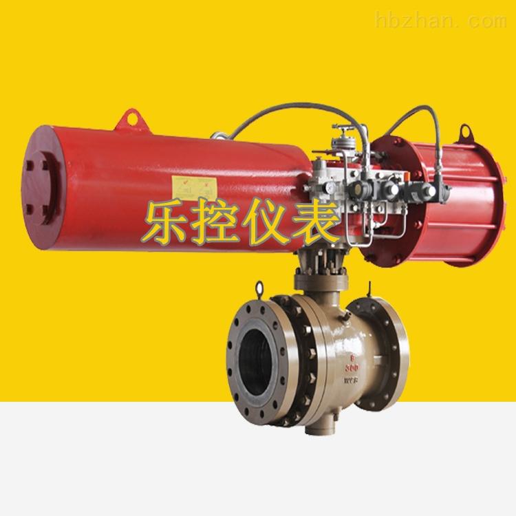 带弹簧复位ZSHO-16K气动O型切断球阀