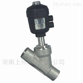 Y661F焊接气动角座阀