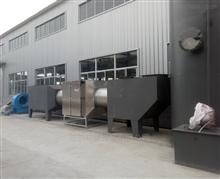 厂家定制屠宰厂恶臭废气处理设备