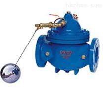 沟槽遥控浮球阀|100X沟槽遥控浮球阀
