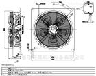 現貨熱銷風電行業專用風機W4D630-GD01-01