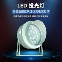 LED投光灯 户外防水照树灯圆形led投射灯