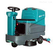 工业用洗地机X6双刷工厂车间地面清洁