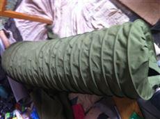 环保设备使用帆布伸缩除尘布袋 优质产品