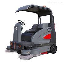 高美駕駛式掃地車學校物業清掃車大型掃地機