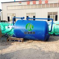 玻璃钢生活污水净水器40m3一体化设备