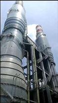 垃圾焚烧炉废气净化碳钢脱硫塔