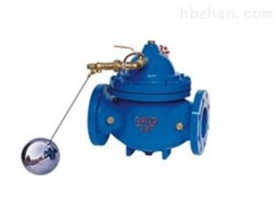100X-16C DN50兴义市阀门 液压水位控制遥控浮球阀
