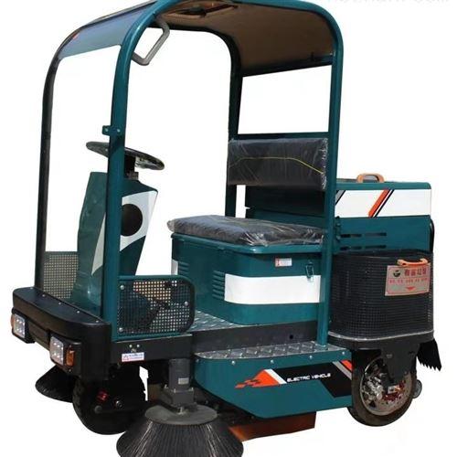 驾驶式电动扫地车
