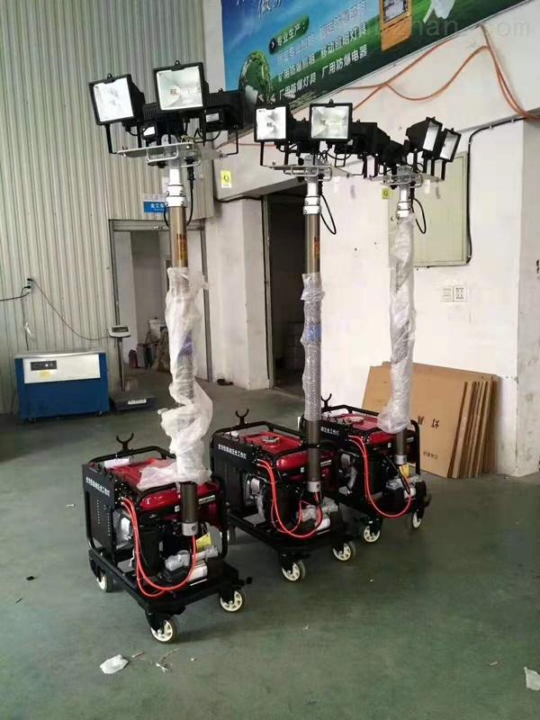内蒙带发电机移动照明车SFW6150C便携灯