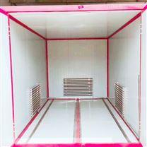 阳泉小型五金零部件烤漆房