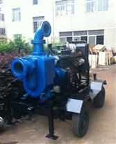 柴油机自吸水泵