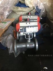 Q641M气动高温一体式球阀