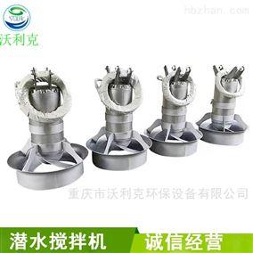 厂家定制污水处理设备不绣钢潜水搅拌机