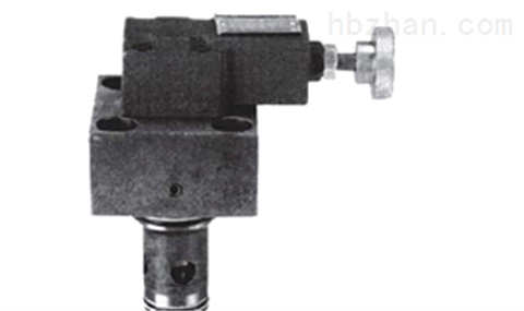 直入式溢流插装阀及阀盖组合 CVB系列