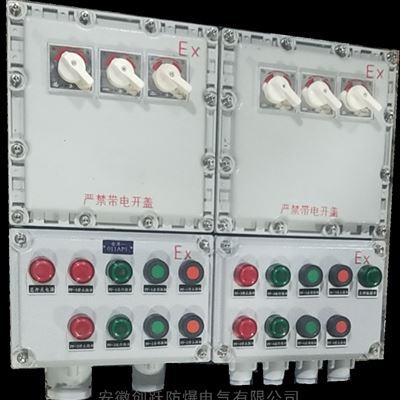 防爆双回路正反转配电箱 BXMD
