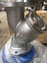 山西GL41W不锈钢Y型过滤器