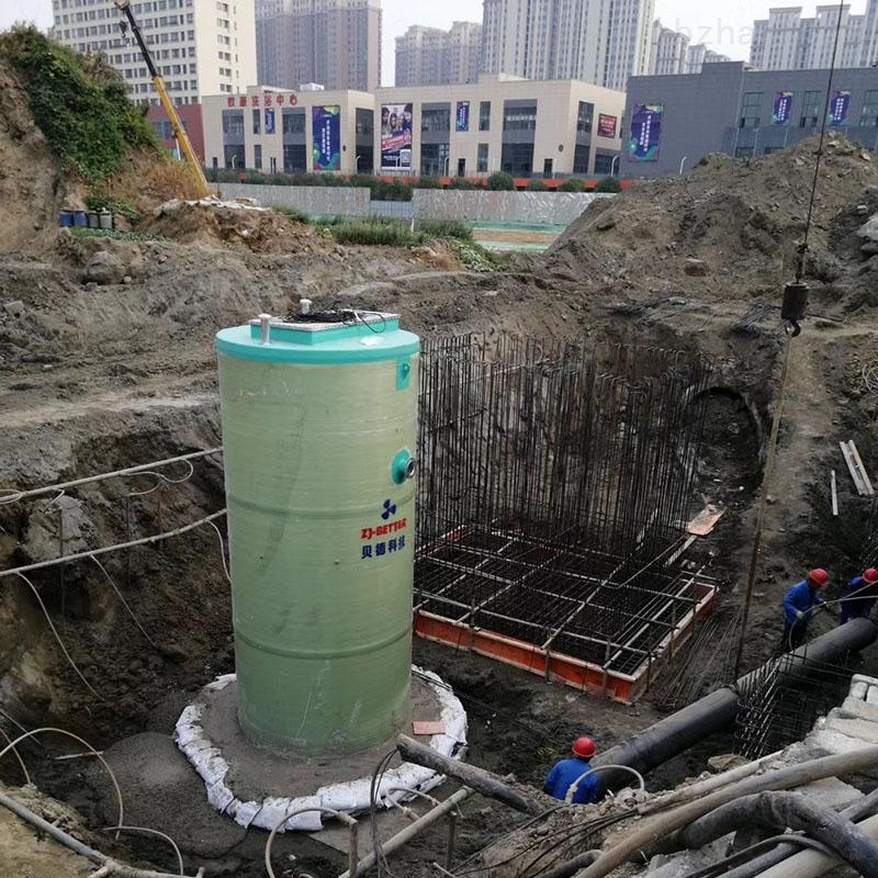 污水提升泵站供应