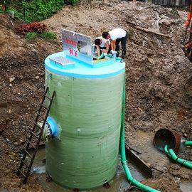 不锈钢地埋一体化污水泵站