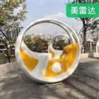 桂林互動自行車噴泉