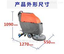 江西菜市场用手推式洗地吸水机