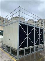 东莞100T空调用低噪音横流式方形冷却塔