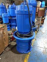 立式防汛潜水泵ZLQZB_电动轴心-水渠抽水