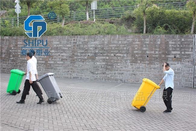脚踏垃圾桶60 100 120L240升脚踩环卫垃圾箱
