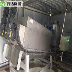 351食品厂污泥处理设备改造升级 叠螺机